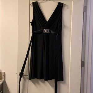 Size 2X Black Party Dress